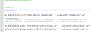 Extract from an *.inf file.  For the geeks out there - Intel's Vendor ID = 8086 :-)