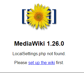 Installing MediaWiki on Windows Server 2012 R2 Core