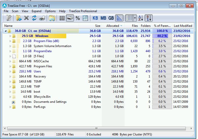 How to Reduce winsxs Folder Size on Windows 7 – Computer Stuff
